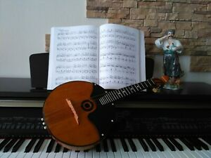 Domra. Balalaika. Mandolin.Ukrainian,Russian folk instrument.Folklore instrument