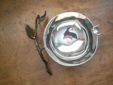 Award Winning Designer Michael Aram Pomegranate Nut Bowl Stainless Steel