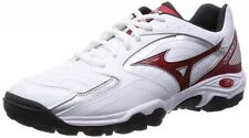 MIZUNO Unisex Handball shoes WAVE GAIA 2 X1GD1550 White X red X silver