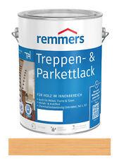 Remmers Treppen- & Parkettlack seidenmatt Farblos 2,5 Liter Versiegelung NEU
