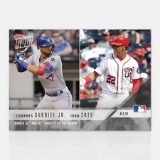 2018 Topps Now Lourdes Gurriel & Juan Soto #545 July AL/NL Rookies of the Month