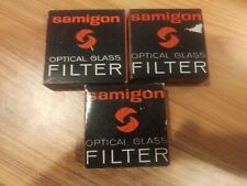 Samigon Optical Glass Filters Kit 3pcs