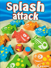 NEW IN BOX Gigamic SPASH ATTACK - Classic Wooden Family Game for 2 - 4 Players