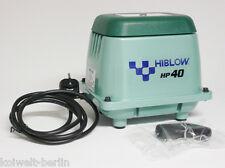HiBlow HP-40 Komplettpaket m. Verteiler, Schlauch und Luftsteinen 40 L/min. 51W