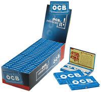 OCB® Blau Gummizug Express No.4 100 Blatt / 25er (Blättchen, Paper, Papier)