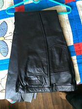 Vintage leather pants (late 1990's) size 11