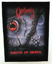 OBITUARY BACKPATCH / SPEED-THRASH-BLACK-DEATH METAL