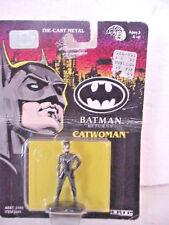 1991 ERTL BATMAN RETURNS DIE CAST METAL CATWOMAN
