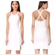 NEW Elizabeth and James Imogen Mini Dress in White - Size 10