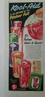 1951 Kool-Aid in the icebox by the pitcher full vintage ad