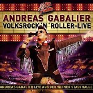 2 CD Andreas Gabalier - Volksrock N Roller - Live