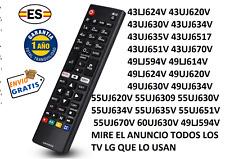 AKB75095308 Mando a distancia de sustitución Tv LG 28MT49S-PZ 32LJ590U 32LJ610V