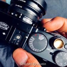 Goldenrob Convexo Disparador Jjc latón Fujifilm X10 Leica ma Nikon Df