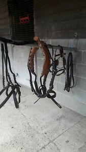 Brown Leather Pony Size Breast Harness