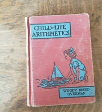 Child Life Arithmetics Grade Three Text Book 1940 California