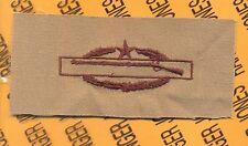 US Army CIB Combat Infantrymans Badge 2nd Award Desert DCU cloth patch