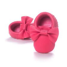 Baby Shoes Newborn Infant Pram Mary Jane Girls Princess Moccasins Soft Moccs