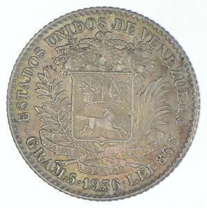 1936 Venezuela 1 Bolivar - TC *674