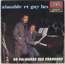 Guy Lux et Aimable 33 tours Au palmarès des chansons
