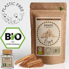 500g Bio Ceylon Zimt Pulver Ceylonzimt gemahlene Zimtstangen + Korkenglas