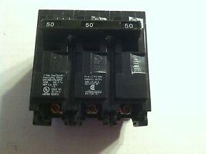 NEW   SIEMANS Murray MP350 Circuit Breaker 3 Pole 50 Amp 120/240 volt Type Q350