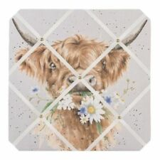 Wrendale Designs 'Daisy Coo Cow' Fabric Notice Board