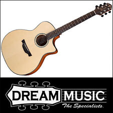Crafter GXE600 Able Series Grand Auditorium Nat Satin Electro Acoustic RRP$1199