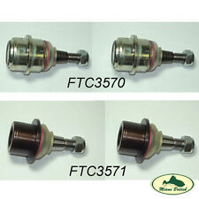 LAND ROVER UPPER & LOWER BALL JOINT SET x4 DISCO II RR P38 FTC3570 FTC3571 ALLM