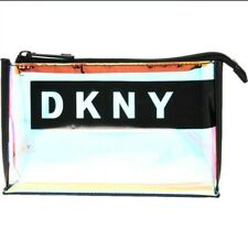 DKNY (Cosmetic Bag)  Iridescent Mirrage Mirror Stand Pouch New with tags.