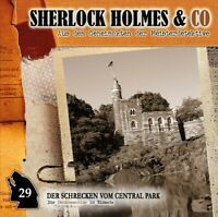 SHERLOCK HOLMES & CO  - VOL.29: DER SCHRECKEN VOM CENTRAL PARK   CD NEW