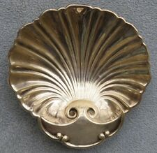 Sterling Silver Shell-Shaped Footed Bonbon Serving Dish