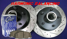 94-96 Impala SS Performance Rotors Metallic Pads Harmonic Balancing Design