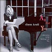 Diana Krall All for You CD NEW..sealed..sent 1st class post