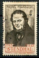 TIMBRE FRANCE OBLITERE N° 550 HENRI BEYLE DIT STENDHAL