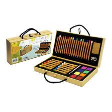 Xonex Just Art Set, 18 Colored Pencils,12 Oil Pastels, 8 Watercolor Cakes+more