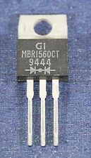 MBR1560CT General Instrument Diode 15A SCHOTTKY BARRIER RECTIFIER TO-220 1PC
