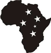 Afrika Aufkleber Stern des Südens Freedom 12x12 cm OFFROAD Dakar Tuareg Tuning