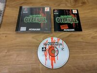 Project Overkill Sony PlayStation 1 PS1 Game Complete with Manual - Free P&P