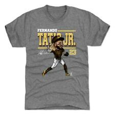 Fernando Tatis Jr. Padres 500 Level Premium MLB Cartoon T-Shirt -GRAY ~Free SHIP