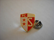a1 SION FC club spilla football calcio fussball pins badge svizzera switzerland