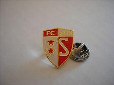 a1 SION FC club spilla football calcio fussball pins badge svizzera switzerland