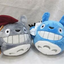 """7"""" Studio Ghibli My Neighbor Totoro Mini w Umbrella 2pcs Stuffed Doll Soft Plush"""