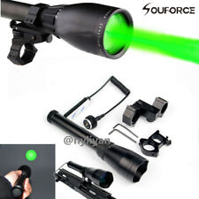 ND3X50 Subzero Zoomable Green Laser Flashlight Night Vision & Adjustable Mount