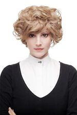 Minutieusement Bouclée Perruque pour Femmes Qualité Blond Châtaigne Court