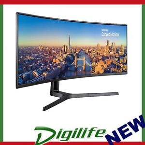 """Samsung LC49 49"""" Curved Gaming Business Monitor 4K 3840x1080 144Hz Super Ultra"""