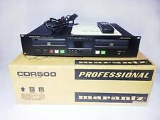 marantz CDR-500 CDR500 Professional Audio CD Player Recorder Used Excellent++