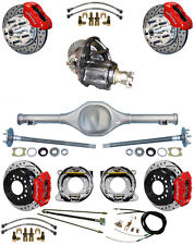 NEW SUSPENSION & WILWOOD BRAKE SET,CURRIE REAR END,POSI-TRAC GEAR,RED,DRL,646614