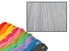 CYBERLOXSHOP PHANTASIA KANEKALON JUMBO BRAID GRULLO GREY HAIR DREADS