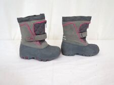 Totes Kids Girls  Winter Boots Size 7 Tori Grey