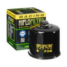 HIFLO HF204RC Filtro Olio Moto RACING TUV 3 strati Filtranti Dado Testa ⌀17